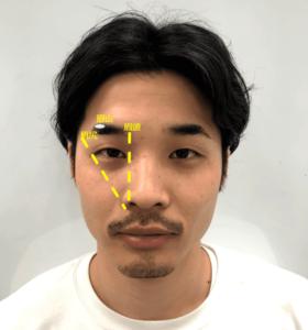 メンズ眉毛の整え方の基本