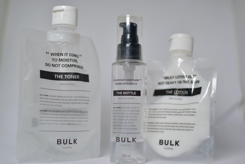 バルクオムの化粧水写真