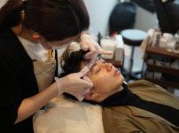 眉毛サロンの施術