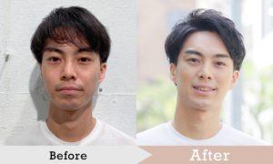 婚活写真の時の髪型