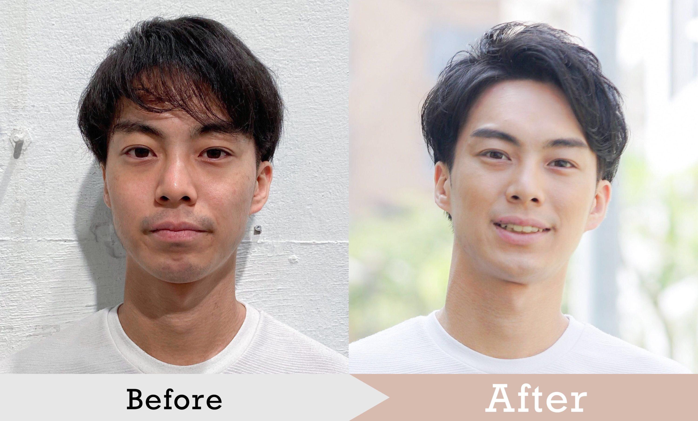 マッチングアプリ写真の髪型